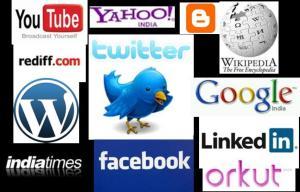 Twitter, Facebook, Yahoo, Google, Blogs, Youtube, etc.