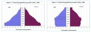 india's population pyramid 2