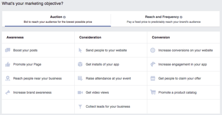 facebook-marketing-objectives
